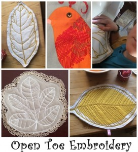 Open toe Embroidery gallery