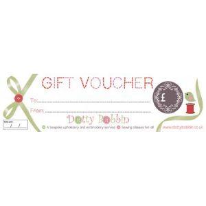 Dotty Bobbin Gift Vouchers